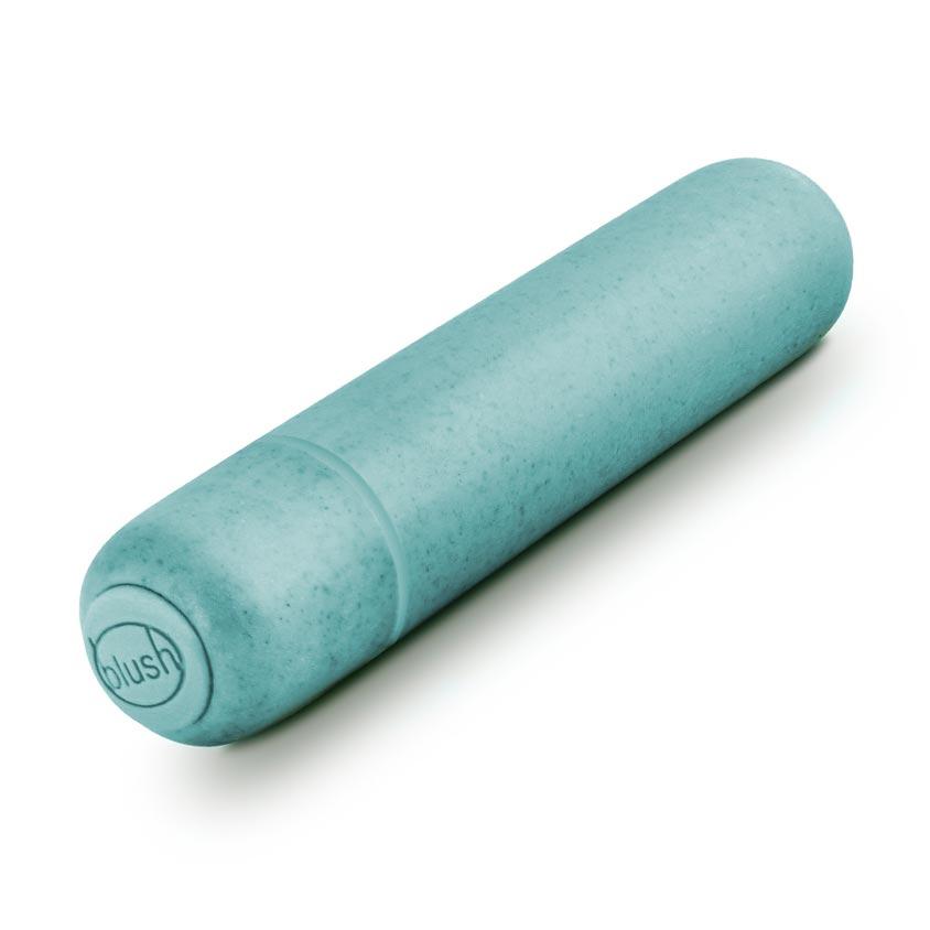 Gaia Biodegradeable Eco Bullet Vibrator Blue