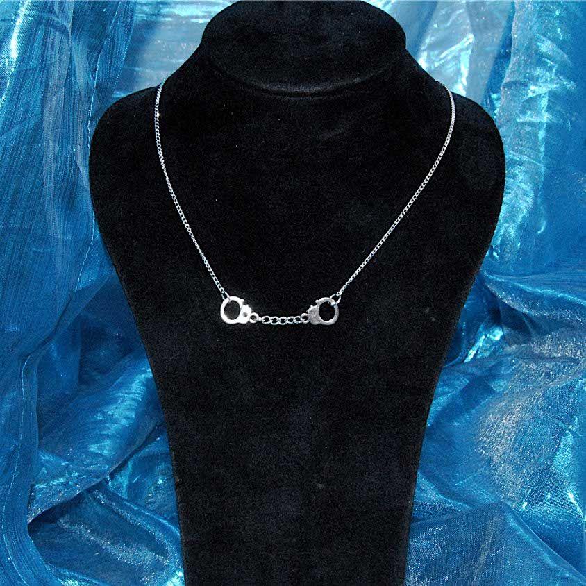 Handcuffs necklace kinky BDSM