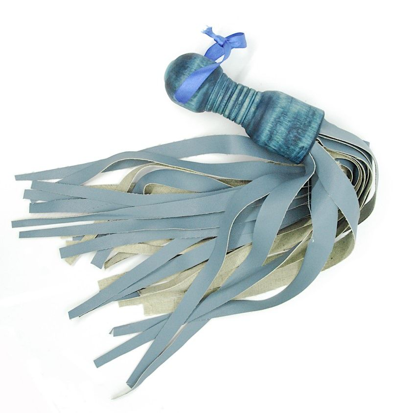 Teal Flogger vegan eco friendly sexy