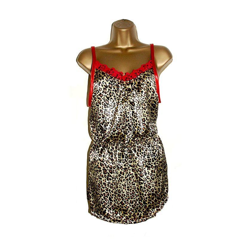 Sexy slinky Leopard print camisole