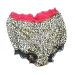Leopard print french knickers