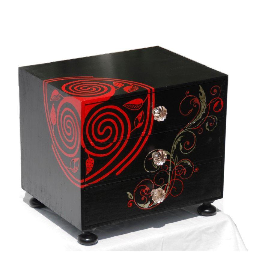 Sex Toy Storage Chest dungeon furniture